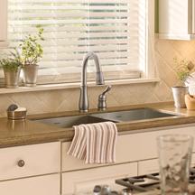 kitchen faucet plumbing repair